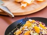 Mandarin, Treviso and Fennel Couscous Salad