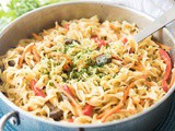 One-Pot Thai Green Curry Noodles
