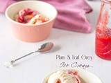 Plum and Earl Grey Ice Cream