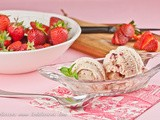 Roasted Strawberry Ice Cream & Scanpan 7 piece Knife Block Giveway