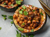 Stuffed Acorn Squash {vegan, vegetarian}