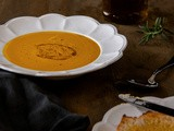 The ultimate lazy roasted pumpkin soup