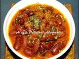 Rajma  / Red Kidney Beans Curry