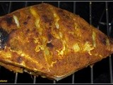 Tandoori Pomfret(Indian grilled pomfret with Tandoori marinade)