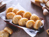 Savoury Pecorino and Parmesan Cheese Biscuits