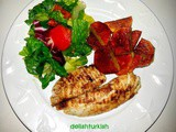 Grilled Fish and Pan Seared Potatoes (Izgara Balik - Tavada Patates)