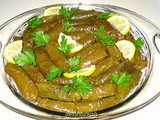 Stuffed Grape Leaves (Zeytinyagli Yaprak Sarma)