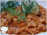 Lachanoryzo (rice with cabbage)