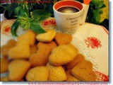 Orange cookies-biscuits (Lenten)
