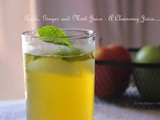 Apple, Ginger and Mint Juice - a cleansing juice