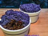 Blue Potato Vegan Shepherd's Pie