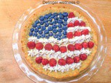 July 4th Custard Pie