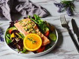 Orange Salmon Salad (Paleo, Whole30)