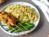 Satay Chicken Skewers (Whole 30, Paleo)