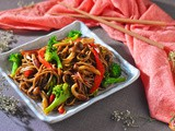 Stir-fried Vegetarian Soba