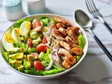 The Best Chicken Cobb Salad (Whole 30, Paleo)