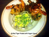 Grilled Tiger Prawn / Fried Tiger Prawn / Jhinga fry / Kooni Meenu Varuval