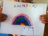 Painting Activity / Learning Counting via Painting / Learning Rainbow Colors Via Painting Activity