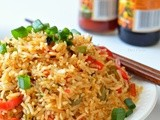 Chinese Fried Rice | Indo Chinese Style