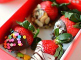 Chocolate - Covered Strawberries Recipe | How to make Chocolate covered Strawberries