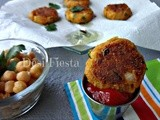 Chola Tikki / Chickpea Patties