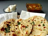 Garlic Kulcha (Stove top)