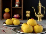 Kesar Malai Ladoo | Malai Ladoo Recipe( With Ricotta Cheese)