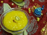 Makkai janjaria / Sweet corn halwa ( Guest post for Priya Ranjit )