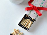 Match stick Cookie | Eggless Match Sick Shaped Cookie