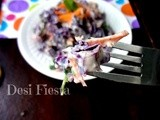 Red cabbage carrot Slaw (Vegan Thursday )