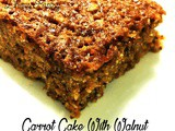 Carrot Cake With Walnut