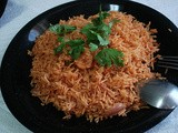 Machboos Rubyan - Traditional Bahraini Dish of Rice & Shrimps