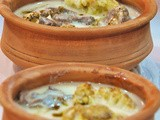 Makmooret Zahra bil Fakhara (Stew of Cauliflower in Yogurt Sauce Cooked in a Clay Pot) - how a stew takes a whole new dimension