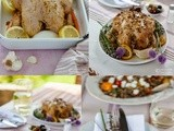 Nature-inspired Summer Table & a Hazelnut & Honey Roast Chicken
