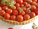 Short-Crust Pastry for Savoury Pies & Tarts and The Simplest Most Delicious Tomato Tart