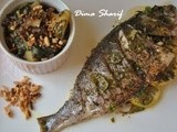 Summer Baked Whole Fish & a Side Serving of Keeping it Healthy this Ramadan