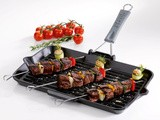 The Perfect Arabic Meat Skewers & Roasted Cherry Tomatoes - Win The Staub Grill Pan