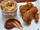 This Baked Chicken Tenders Recipe is How i Kissed  Fried Chicken  Good-bye!! With a side of my Low-Fat Coleslaw Salad
