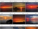 2014 Outer Banks Sunsets Wall Calendars