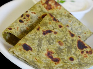 Pudina Paratha | Mint Paratha | Mint Flavored Indian Flat Bread
