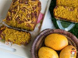 Mango semolina fruity cake recipe