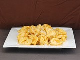 Cheese Tortellini with Pumpkin Alfredo Sauce