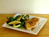 Cider-Glazed Chicken with Apple Fennel Salad