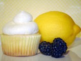Food Unchained: Lemon Blackberry Cupcakes