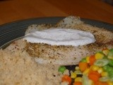 Mediterranean Tilapia with Lemon-Dill Sauce