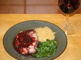 Pork Chops with Pinot Noir Sauce
