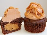 Recipe Swap: Chocolate Peanut Butter Cupcakes