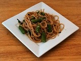 Whole Wheat Lemon Spaghetti with Asparagus