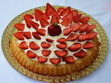 Crostata morbida crema e fragole