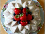 Summer Fruit Salad Bundt Cake